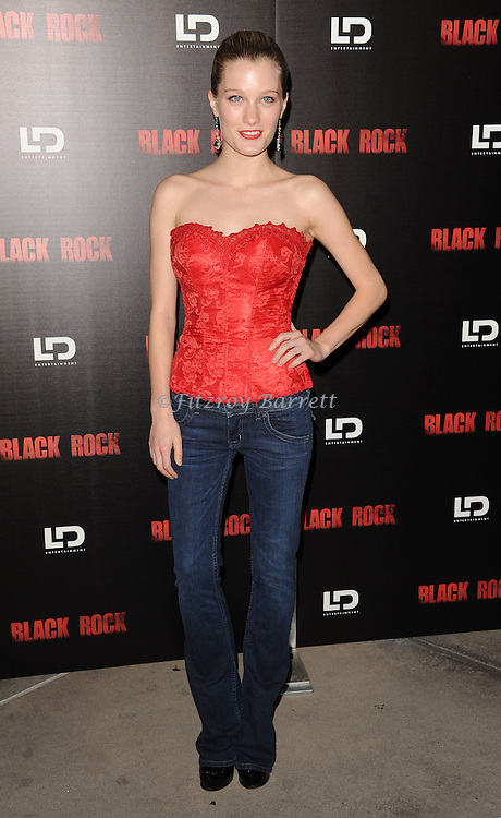 """Ashley Hinshaw at the screening of """"Black Rock"""" held at the Arclight Theatre in Los Angeles, CA. on May 8, 2013."""