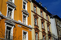 Frankfurt: Facades on Gartnerweg. Photo '87.