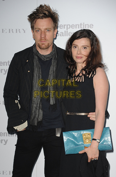 Ewan McGregor and Eve McGregor.at the Burberry Serpentine Gallery Summer Party, Kensington Palace Gardens, London, England 29th June 2011.half length.CAP/WIZ.© Wizard/Capital Pictures.