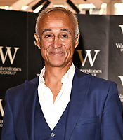 Andrew Ridgeley attends a book signing for 'Wham! George & Me' at Waterstones bookstore in  Piccadilly, London on October 5th 2019<br /> <br /> Photo by Vivienne Vincent