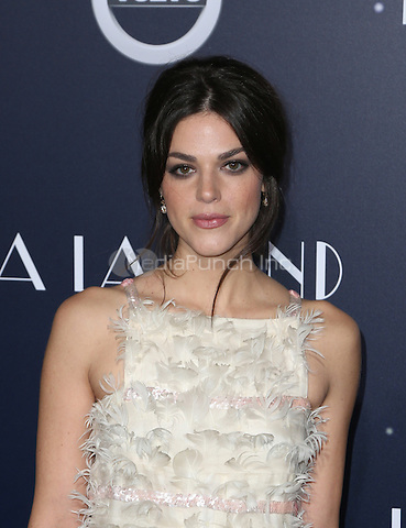 "Westwood, CA - DECEMBER 06: Callie Hernandez, At Premiere Of Lionsgate's ""La La Land"" At Mann Village Theatre, California on December 06, 2016. Credit: Faye Sadou/MediaPunch"