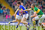 Kieran Donaghy, Kerry in action against Donagh Leahy, Tipperary in the first round of the Munster Football Championship at Fitzgerald Stadium on Sunday.