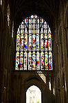 Stained glass, Norwich cathedral, Norwich, Norfolk, England