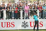 Thongchai Jaidee of Thailand tees off the first hole during the 58th UBS Hong Kong Golf Open as part of the European Tour on 10 December 2016, at the Hong Kong Golf Club, Fanling, Hong Kong, China. Photo by Marcio Rodrigo Machado / Power Sport Images