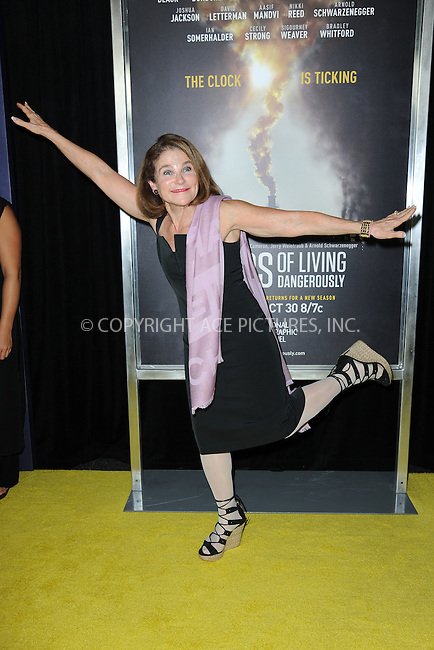 www.acepixs.com<br /> September 21, 2016  New York City<br /> <br /> Tovah Feldshuh attending National Geographic's 'Years Of Living Dangerously' new season world premiere at the American Museum of Natural History on September 21, 2016 in New York City. <br /> <br /> Credit: Kristin Callahan/ACE Pictures<br /> <br /> <br /> Tel: 646 769 0430<br /> Email: info@acepixs.com