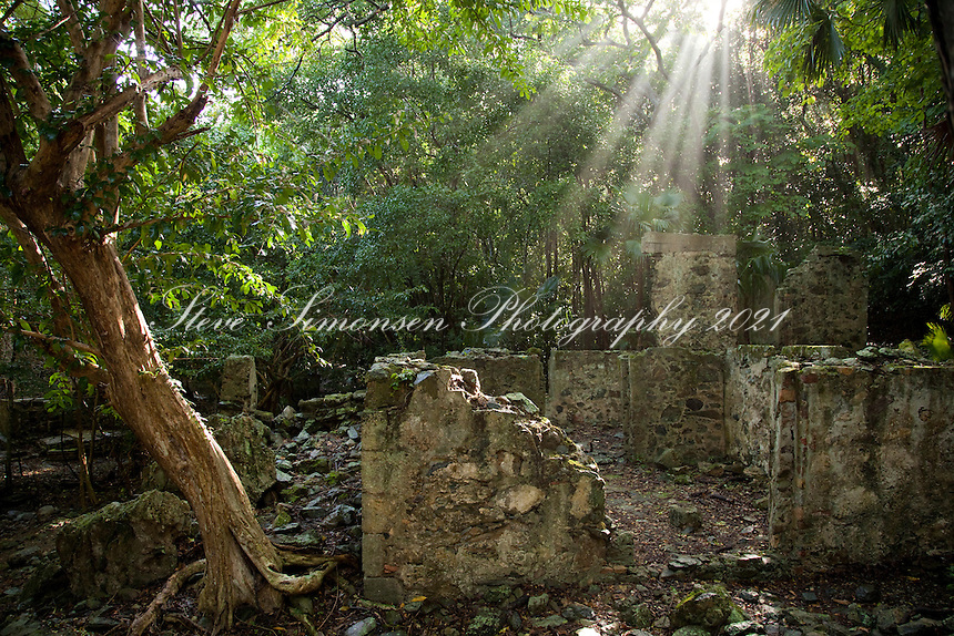 Cinnamon Bay Ruins.Virgin Islands National Park.St. John, VI 00831