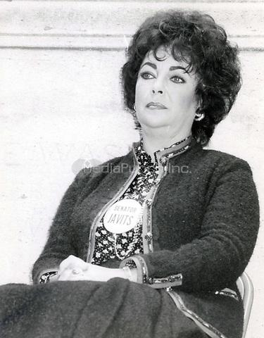 Elizabeth Taylor 1985<br /> Photo By John Barrett-PHOTOlink.net