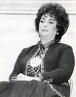 Elizabeth Taylor 1985<br /> Photo By John Barrett-PHOTOlink.net