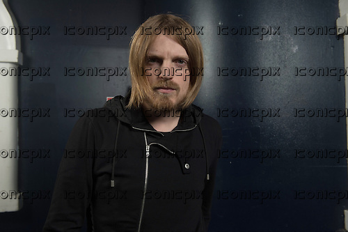 KASABIAN<br />  - bassist Chris Edwards - Photosessionn in Paris France - 30 Apr 2014<br /> .  Photo credit: Manon Violence/Dalle/IconicPix