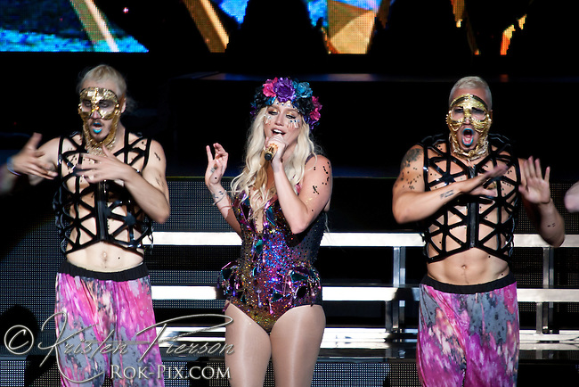 Kesha performs at Comcast Center May 23 2013