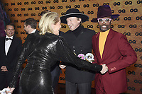 Sharon Stone, Marius Müller-Westernhagen and Billy Porter at the 21st presentation of the GQ Men of the Year Awards 2019 at the Komische Oper. Berlin, November 7, .2019. Credit: Action Press/MediaPunch ***FOR USA ONLY***