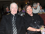 Declan and Marie Thompson pictured at the Mornington Gospel Choir concert in the Glenside hotel. Photo: Colin Bell/pressphotos.ie