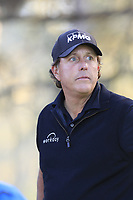 Phil Mickelson (USA) on the 2nd tee during Thursday's Round 1 of the 2018 AT&amp;T Pebble Beach Pro-Am, held over 3 courses Pebble Beach, Spyglass Hill and Monterey, California, USA. 8th February 2018.<br /> Picture: Eoin Clarke | Golffile<br /> <br /> <br /> All photos usage must carry mandatory copyright credit (&copy; Golffile | Eoin Clarke)