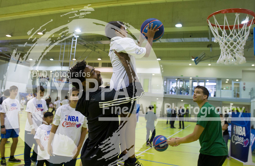 XXXX during clinic with kids