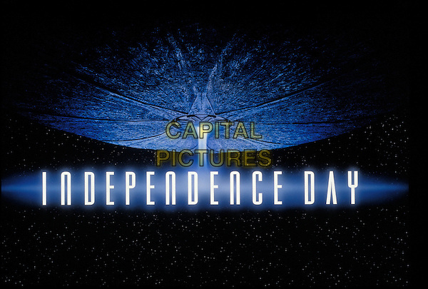 Independence Day Blu-ray: 20th Anniversary Edition<br /> TITLE ART<br /> *Filmstill - Editorial Use Only*<br /> CAP/KFS<br /> Image supplied by Capital Pictures