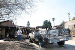 A house is lost in the Sylmar Fire which started near Veterans Park in Sylmar.15 November 2008