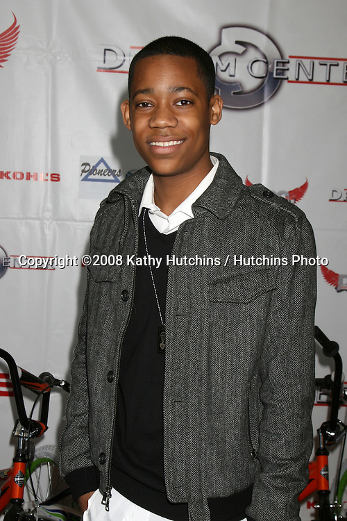 Tyler James Williams  at the 14th Annual Christmas in the City Giveaway at the Galen Center at USC in Los Angeles, CA on December 21, 2008.©2008 Kathy Hutchins / Hutchins Photo..                .