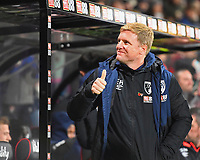 AFC Bournemouth Manager Eddie Howe gives the thumbs up during AFC Bournemouth vs Norwich City, Caraboa Cup Football at the Vitality Stadium on 30th October 2018