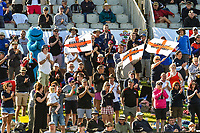 Barmy Army during the final day of the Second International Cricket Test match, New Zealand V England, Hagley Oval, Christchurch, New Zealand, 3rd April 2018.Copyright photo: John Davidson / www.photosport.nz