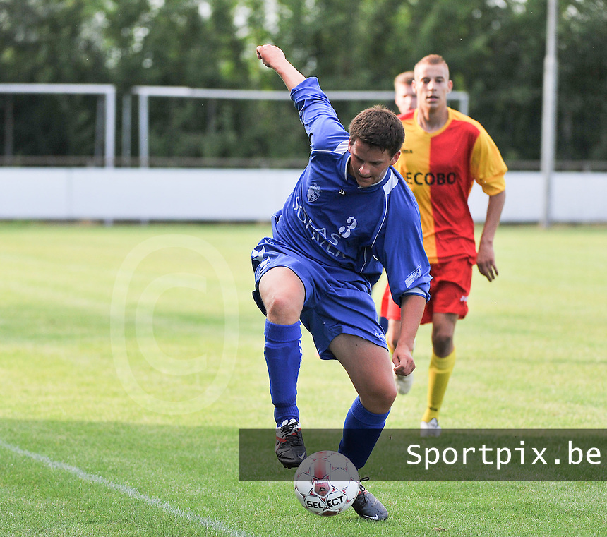 KSV Rumbeke : Wouter Cottignies<br /> foto VDB / Bart Vandenbroucke
