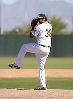 Scott Hodsdon / Oakland Athletics 2008 Instructional League..Photo by:  Bill Mitchell/Four Seam Images