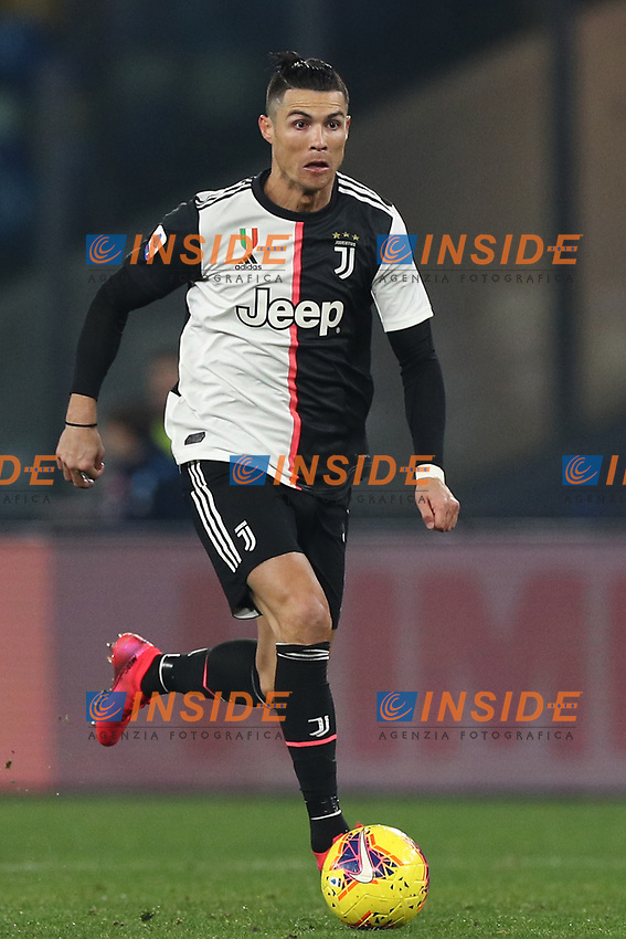 Cristiano Ronaldo of Juventus<br /> Napoli 26-01-2020 Stadio San Paolo <br /> Football Serie A 2019/2020 SSC Napoli - Juventus FC<br /> Photo Cesare Purini / Insidefoto
