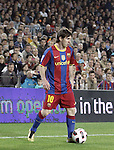 16.10.2010 Spain, Barcelona, La Liga Fc Barcelona beat Valencia 2 -1,after rallied from a goal in the second time in Camp nou