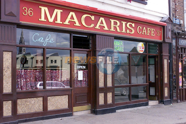 Macaris cafe in the bull ring..Picture Fran Caffrey Newsfile.