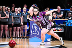 CLAYTON, MO - APRIL 14: Breanna Clemmer #10 of McKendree University bowls during the Division I Women's Bowling Championship held at Tropicana Lanes on April 14, 2018 in Clayton, Missouri. Vanderbilt University defeated McKendree University 4-3. (Photo by Tim Nwachukwu/NCAA Photos via Getty Images)