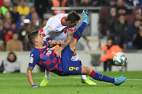 Luis Suarez, Antonio Raillo<br /> 07/12/2019 <br /> Barcelona - Maiorca<br /> Calcio La Liga 2019/2020 <br /> Photo Paco Largo Panoramic/insidefoto <br /> ITALY ONLY