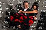Alec Baldwin and Hilaria Thomas at ICON awards in the Italian Consulate in Madrid. <br /> 01/10/2014.