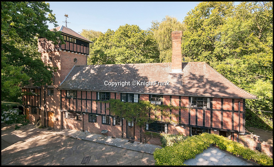 BNPS.co.uk (01202 558833)<br /> Pic: KnightFrank/BNPS<br /> <br /> Seperate building could contain lots of staff, or guests.<br /> <br /> Lovely bubbly - does this idyllic riverside estate pop your cork?<br /> <br /> This multi-million pounds home is sure to put some fizz into the property market - as it was bought on the back of the Babycham empire.<br /> <br /> Spearbed Copse belongs to the Showering family which created the sparkling pear drink that was a hit with young women in the 1960s and '70s.<br /> <br /> The tipple was the first alcoholic drink to be advertised on British TV and the money made from its booming success enabled brewer Francis Showering to purchase a grand family home in Beaulieu, Hants.