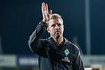 12.10.2018, Stadion an der Bremen Bruecke, Osnabrueck, GER, FSP, 1.FBL, VfL Osnabrueck vs Werder Bremen<br /> <br /> DFL REGULATIONS PROHIBIT ANY USE OF PHOTOGRAPHS AS IMAGE SEQUENCES AND/OR QUASI-VIDEO.<br /> <br /> im Bild / picture shows<br /> Florian Kohfeldt (Trainer SV Werder Bremen) nach Spielende, <br /> <br /> Foto © nordphoto / Ewert