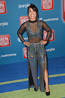 "LOS ANGELES, CA. November 05, 2018: Dani Fernandez at the world premiere of ""Ralph Breaks The Internet"" at the El Capitan Theatre.<br /> Picture: Paul Smith/Featureflash"