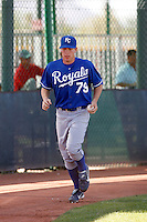 Buddy Baumann - Kansas City Royals 2009 Instructional League. .Photo by:  Bill Mitchell/Four Seam Images..