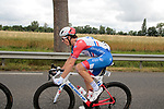 Arnaud Demare (FRA) Groupama-FDJ during Stage 2 of the Route d'Occitanie 2019, running 187.7km from Labruguière to Martres-Tolosane, France. 21st June 2019<br /> Picture: Colin Flockton | Cyclefile<br /> All photos usage must carry mandatory copyright credit (© Cyclefile | Colin Flockton)