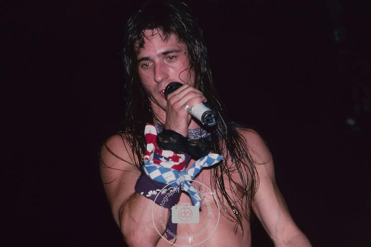 KILLER DWARFS - Russ Dwarf - performing live in Los Angeles, Ca June 1987
