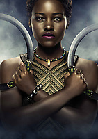 Black Panther (2018) <br /> Lupita Nyong'o<br /> *Filmstill - Editorial Use Only*<br /> CAP/KFS<br /> Image supplied by Capital Pictures