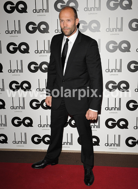 **ALL ROUND PICTURES FROM SOLARPIX.COM**.**WORLDWIDE SYNDICATION RIGHTS**.The GQ Men of the year Awards 2010. Held at the Royal Opera House, Covent Garden, London, on Tuesday September 07, 2010..This pic: Jason Statham..JOB REF: 12052 SSD     DATE: 07_09_2010.**MUST CREDIT SOLARPIX.COM OR DOUBLE FEE WILL BE CHARGED**.**MUST NOTIFY SOLARPIX OF ONLINE USAGE**.**CALL US ON: +34 952 811 768 or LOW RATE FROM UK 0844 617 7637**