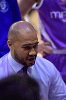 Saints Coach Kevin Braswell in action during the NBL - Wellington Saints v Supercity Rangers at TSB Bank Arena, Wellington, New Zealand on Friday 5 May 2017.<br /> Photo by Masanori Udagawa<br /> www.photowellington.photoshelter.com.