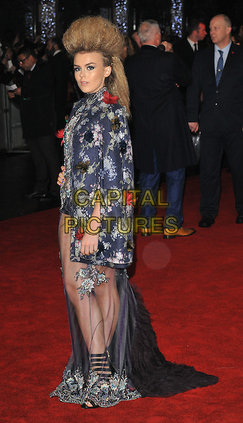 Tallia Storm attends the &quot;The Hunger Games: Mockingjay Part 2&quot; UK film premiere, Odeon Leicester Square, Leicester Square, London, England, UK, on Thursday 05 November 2015. <br /> CAP/CAN<br /> &copy;Can Nguyen/Capital Pictures