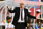 Egypt's Argentinian coach Hector Raul Cuper reacts during the 2017 Africa Cup of Nations group D football match between Mali and Egypt in Port-Gentil on January 17, 2017. Photo by Stranger