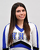 Christina Mallano of Hauppauge poses for a portrait during the Newsday All-Long Island cheerleading photo shoot at company headquarters on Tuesday, Mar. 15, 2016.