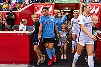 Bridgeview, IL - Wednesday August 21, 2019: Chicago Red Stars vs Orlando Pride at SeatGeek Stadium.