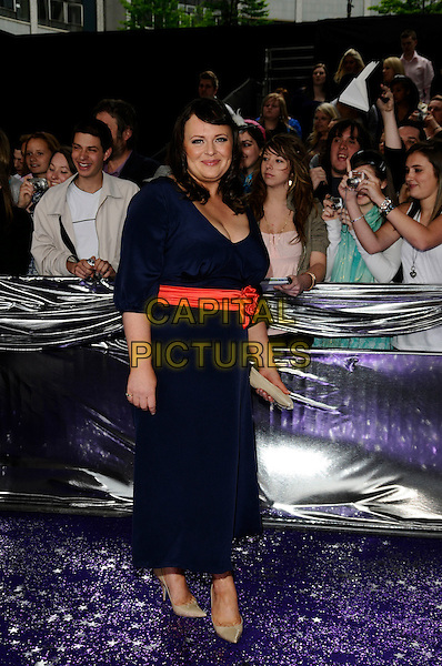 WANDA OPALINSKA.Coronation Street.British Soap Awards 2008.BBC Wood Lane.3rd May 2008.full length black dress.CAP/CAN.© Can Nguyen/Capital Pictures