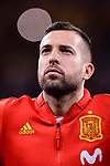 Jordi Alba of Spain getting into the field during the International Friendly 2018 match between Spain and Argentina at Wanda Metropolitano Stadium on 27 March 2018 in Madrid, Spain. Photo by Diego Souto / Power Sport Images
