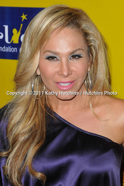 Adrienne Maloof.Ringling Bros. and Barnum & Bailey presents Fully Charged.Staples Center.Pacoima, CA.May 14, 2011.©2011 Hutchins Photo....