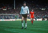 Norman Whiteside, Manchester United & N Ireland, taken during final, Milk Cup 1983 at Wembley, London, UK. Manchester United were defeated 2-1 by liverpool FC. 19830326NW2..Copyright Image from Victor Patterson, 54 Dorchester Park, Belfast, United Kingdom, UK...For my Terms and Conditions of Use go to http://www.victorpatterson.com/Victor_Patterson/Terms_%26_Conditions.html