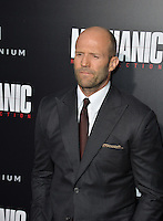 LOS ANGELES, CA. August 22, 2016: Actor Jason Statham at the Los Angeles premiere of &quot;Mechanic: Resurrection&quot; at the Arclight Theatre, Hollywood.<br /> Picture: Paul Smith / Featureflash