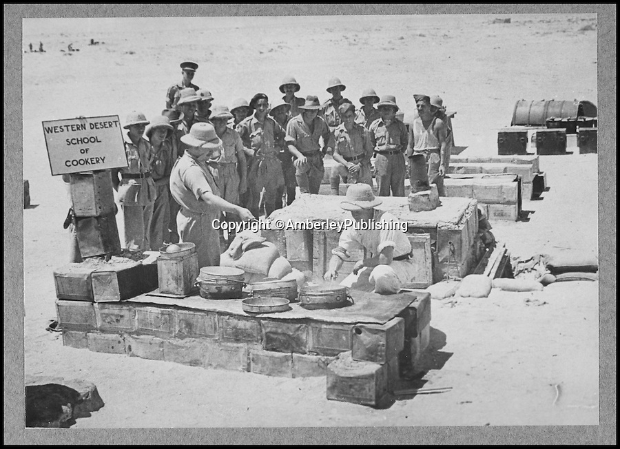 BNPS.co.uk (01202 558833)<br /> Pic:AmberleyPublishing/BNPS<br /> <br /> ***Please Use Full Byline***<br /> <br /> A WW1 desert cookery lesson. <br /> <br /> A cookbook for WWI soldiers has been published for the first time in 100 years revealing the surprising recipes that British Tommies lived on in the trenches.<br /> <br /> Hundreds of thousands of troops were armed with The British Army Cook Book as they headed to off war in 1914.<br /> <br /> The book contained detailed instructions on how to rustle up mouth-watering menus to feed entire platoons using meagre war-time rations.<br /> <br /> The dishes might sound tempting but in reality those on the frontlines would have had to rely more on powdered foods because fresh produce often took too long to reach them.<br /> <br /> The 1914 British Army Cook Book has been reprinted by Amberley Publishing for the first time since it was first issued 100 years ago.<br /> <br /> It is on sale now for £9.99.